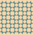 abstract floral seamless pattern green and beige vector image