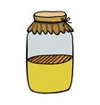 filled jar icon image vector image vector image