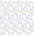 lavender seamless pattern vector image vector image