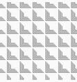 seamless monochrome minimalistic pattern vector image