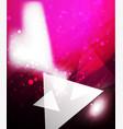 shiny glittering light background vector image