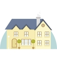 two story house icon vector image