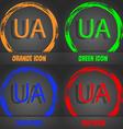 Ukraine sign icon symbol UA navigation Fashionable