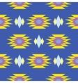 Aztec indian geometric seamless pattern vector image