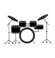 contour drums musical instrument to play music vector image vector image