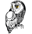 Decorative Owl vector image vector image