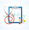 Health Medical Concept vector image vector image