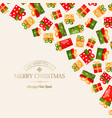 light winter holidays template vector image vector image