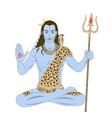 lord shiva vector image