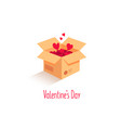love is in the air love box vector image vector image