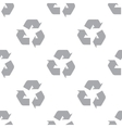 New Recycling seamless pattern vector image vector image