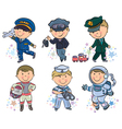 Professions kids set 1 vector | Price: 3 Credits (USD $3)
