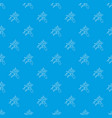 search insect pattern seamless blue vector image vector image