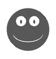 Smile face circle sign vector image vector image