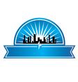 City seal vector image