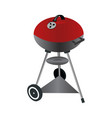 Barbecue grill isolated on vector image