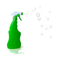 housekeeping with detergent vector image
