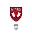 logo butchery vector image
