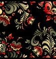 russian oklahoma ornament seamless pattern vector image