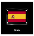 spain flags design vector image