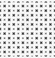 abstract seamless pattern of crosses vector image vector image