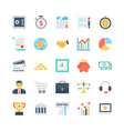 Banking and Finance Icons 1 vector image vector image