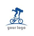 bike sport logo vector image