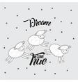 dream come true vector image