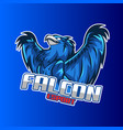 falcon esport logo - a logo that can be used in a vector image
