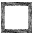 frame for photos pictures pencil shading vector image vector image