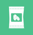 icon potato seeds vector image vector image