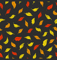 pattern leaves color vector image