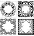 quad ornament vector image vector image