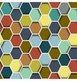 seamless abstract hexagon vector image vector image
