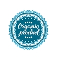 Stamp with text Organic Product written inside vector image vector image