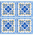 traditional portugal lisbon azulejo ceramic tiles vector image