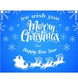 Red christmas background with vector image