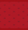 abstract wave pattern red ripple background flat vector image vector image