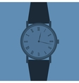 Classic analog mens wrist watch vector | Price: 1 Credit (USD $1)