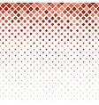 Geometric diagonal square mosaic pattern vector image