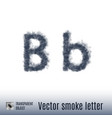 smoke letter vector image vector image