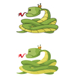 snake set vector image vector image