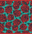 vintage floral colorful seamless pattern vector image vector image