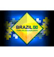 brazil color backgrounds design vector image