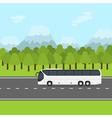 bus trip vector image vector image