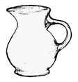 ceramic pot vector image vector image