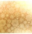 Christmas pattern snowflake seamless EPS 8 vector image vector image