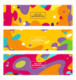 decorative abstract backgrounds vector image vector image