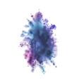 dust colorful splash abstract painting ink in vector image