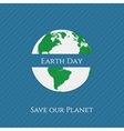 Earth Day textile realistic Banner Template vector image vector image
